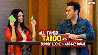 Sunny Leone and Arbaaz Khan Play Taboo   Tera Intezaar