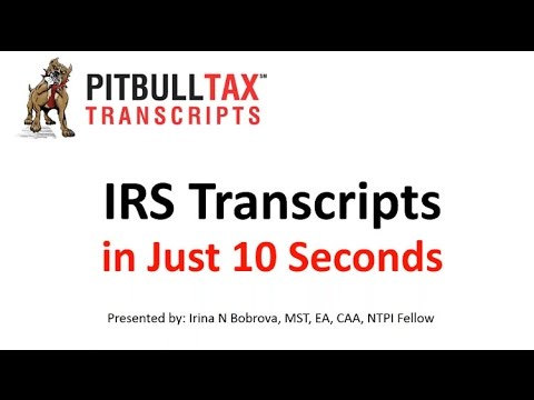 IRS Transcripts Delivery in just 10 Seconds