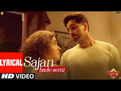 Xxx Mp4 Lyrical SAJAN BADE SENTI Badhaai Ho Ayushmann K Sanya M Dev N Harjot K Kaushik Akash Guddu 3gp Sex