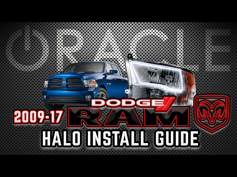 ORACLE Lighting Install Guide - 2009-17 Dodge Ram Sport (Quad)
