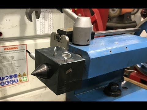Matching Dovetails Used To Create a Lathe Tailstock Offset