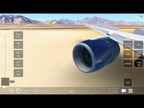 Infinite Flight: Aeroméxico 777 Mexico City to Cabo San Lucas LIVE