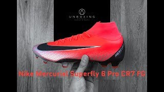 separation shoes c6e50 c2085 ... Nike Mercurial Superfly 6 Pro CR7 FG Built on dreams UNBOXING ...