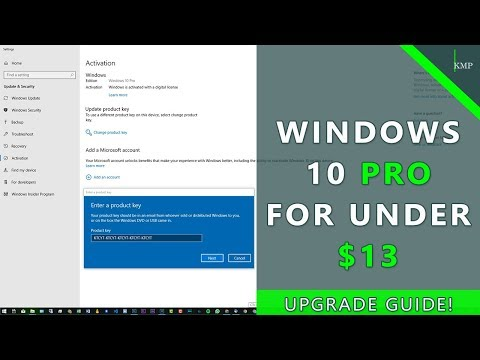 How To Get Windows 10 Pro For Under $13! - Upgrading Guide