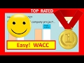 Weighted Average Cost of Capital (WACC) in 3 Easy Steps: How to Calculate WACC