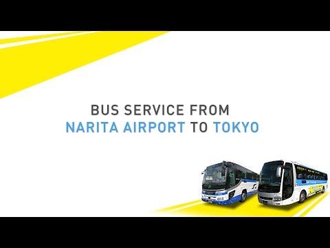 Narita Airport to Tokyo by Bus