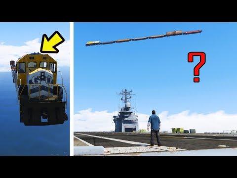 Mistério do Trem voador!! você já viu ele no GTA 5?