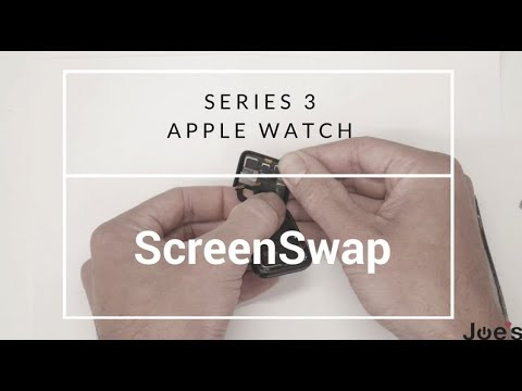 How to Replace Series 3 Apple Watch Screen Display