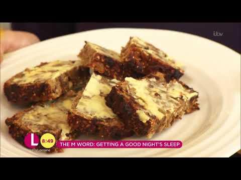 The M Word - Liz Earle's Menopause Cake For a Good Night's Sleep   Lorraine