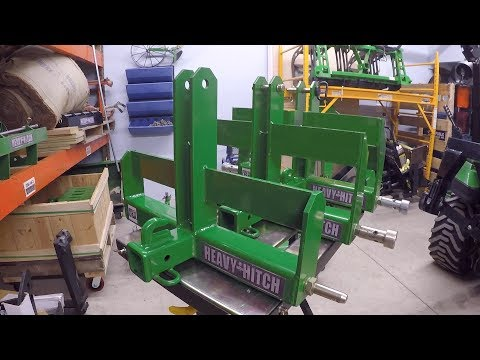 Tractor Ballast: Heavy Hitch Weight Bracket or Ballast Box for  (Sub) Compact  Tractors