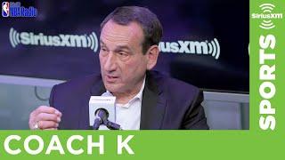 Duke's Coach K Breaks Down Zion Williamson, RJ Barrett & Cam Reddish Ahead of the NBA Draft