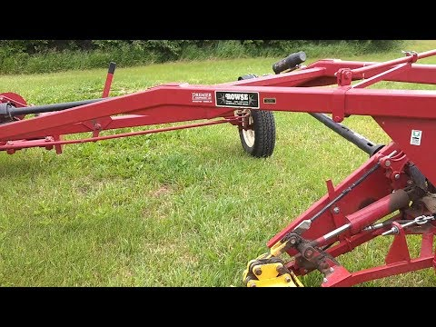 Overview: Rowse Double Bar (Sickle) Mower