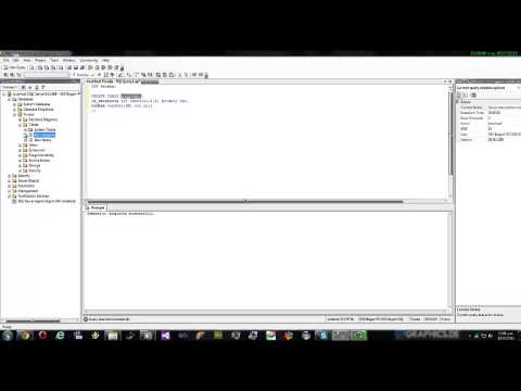 Crear Tablas con llave Primaria SQL SERVER 2005