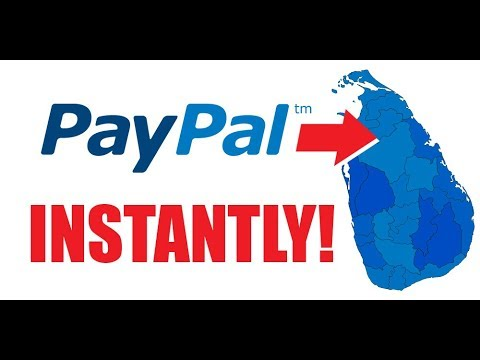 How to Withdraw From PayPal to Sri Lanka Instantly