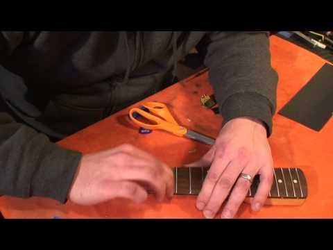Quick & Dirty Experiments: DIY Lacquered Rosewood fretboard - part 1