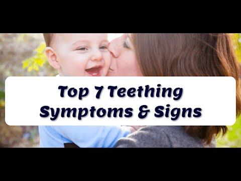 Top 7 Teething Symptoms & Signs in Babies