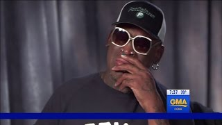 Dennis Rodman Takes Credit For Release of Otto Warmbier From North Korea