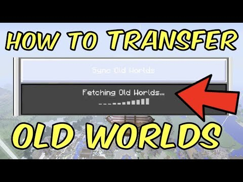 Minecraft BETTER TOGETHER UPDATE XBOX - World Transfer - How to transfer your Xbox One Saves to BTU!
