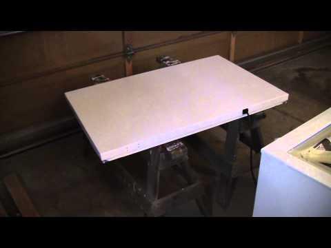 How to Build a Keezer / Kegerator. Part 1 Painting it Black