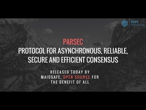 PARSEC - Protocol for Asynchronous, Reliable, Secure and Efficient Consensus