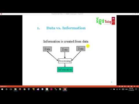 SQL Data Vs Information