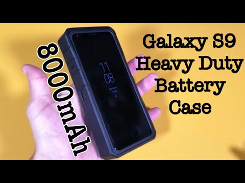 Galaxy S9: 8000mAh Rugged Battery Case! Triple Protection & Shockproof | ZeroLemon