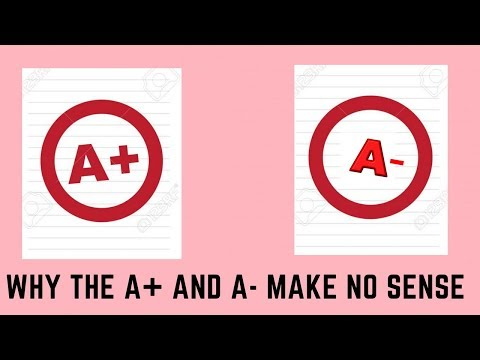 Why We Need to Get Rid of the A+ and A-