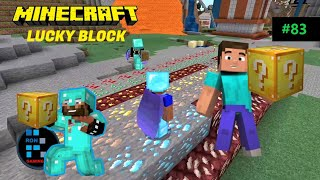 MINECRAFT | RON Opens More Lucky Blocks & His Luck Is Amazing