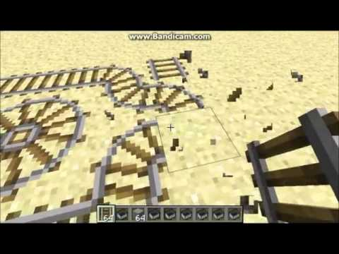 Minecraft 1.2.3 infinite minecart booster