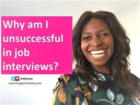 4 Reasons Why You are Unsuccessful in Job Interviews - how to improve job interview skills