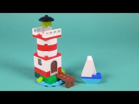 Lego Lighthouse Building Instructions - Lego Classic 10692