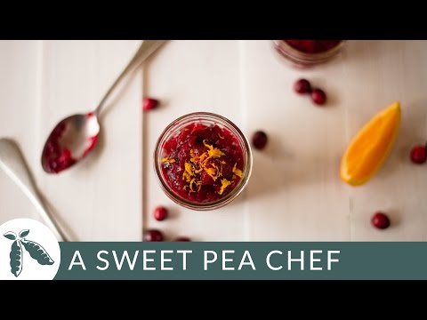 Best Homemade Cranberry Sauce - Easy Side Dish | A Sweet Pea Chef