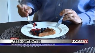 Time restricted eating not necessary for weight loss