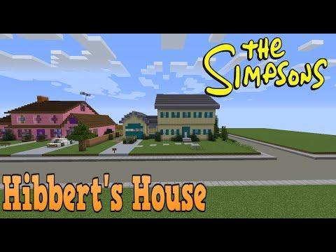 Minecraft Springfield SO4: Hibbert House!