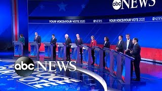 Democratic candidates debate: How to budget health care l ABC News