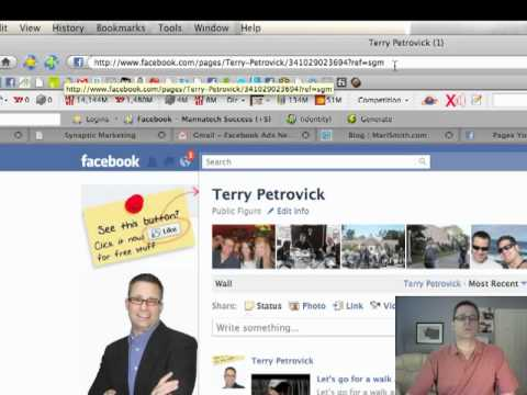 How to Create a Facebook Vanity Fan Page URL