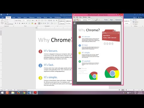 How To Create and Edit PDF File in Microsoft Word 2016 Tutorial