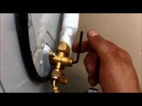 Procedimento para liberar o Gás Ar Condicionado Split