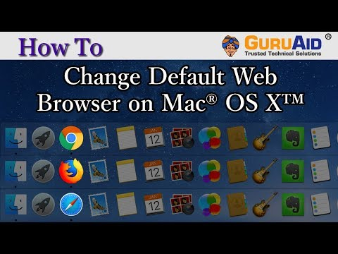 How to Change Default Web Browser on Mac® OS X™ -