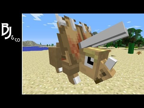 Minecraft - Dino World! 1 - Fossil Archeology Revial Mod