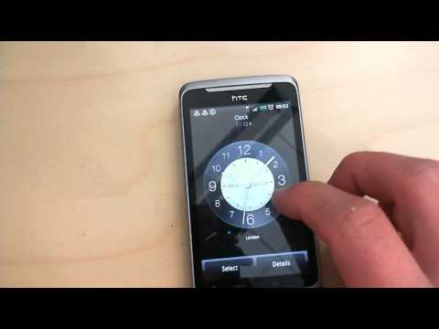 HTC Desire: Creating a view