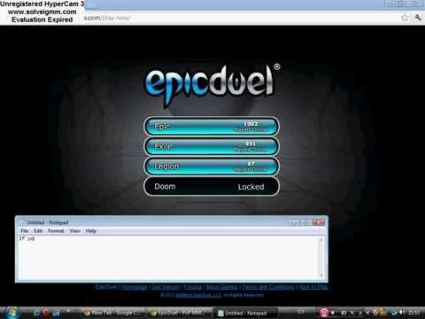 Epic duel Artix Hack