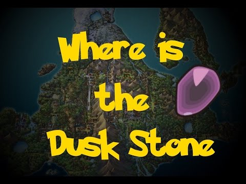 Where Is: The Dusk Stone (Location 1) (Pokemon Platinum)