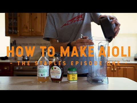 How To Make Aioli - The Staples Episode One