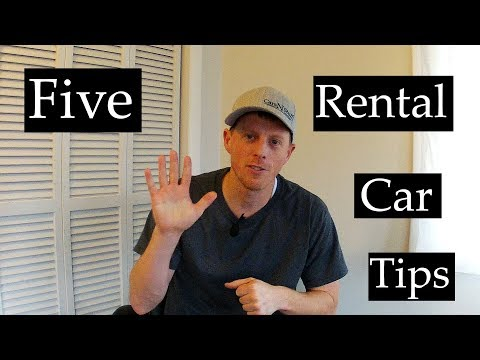 5 Tips to get the best deal on a rental  car