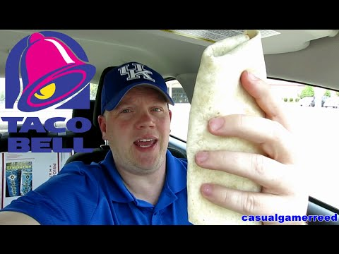 Reed Reviews Taco Bell Burrito Supreme