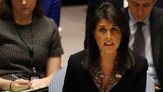US vetos 'insulting' UN vote over status of Jerusalem