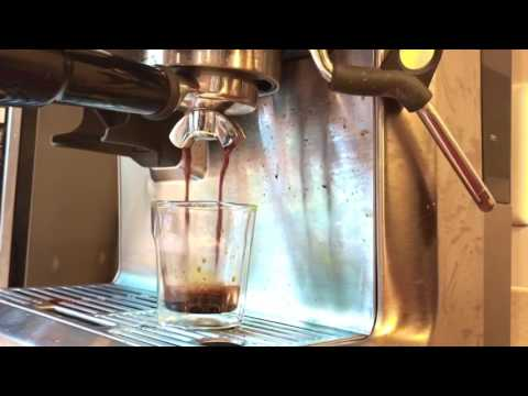 Caramel Iced Coffee using Breville Barista Express