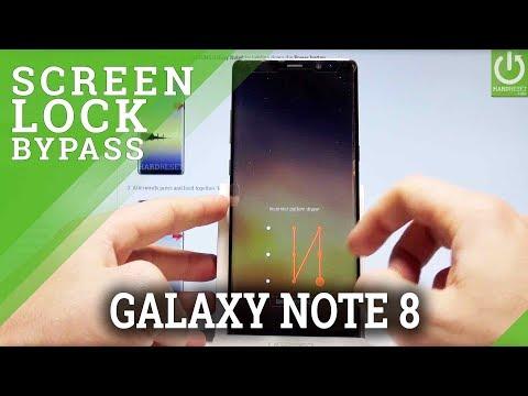 SAMSUNG Galaxy Note8 HARD RESET / Bypass Screen Lock / Skip Fingerprint