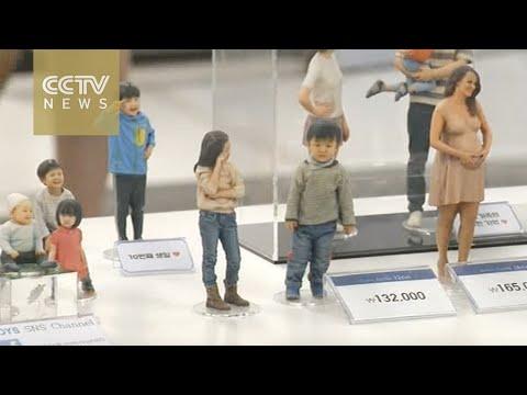 Life-like 3D printed figurines grow popular in South Korea